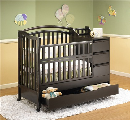 baby crib with drawers underneath